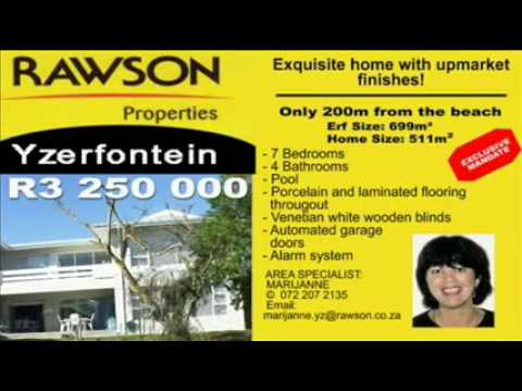 Yzerfontein property for sale  | Cape Town | South Africa | Exquisite home with upmarket finishes