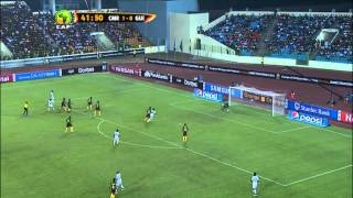 Cameroon vs Guinea 1:1 (AFCON 2015)