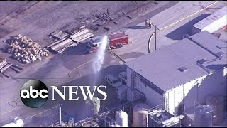 Chemical Spill in Kansas | Residents Shelter in Place