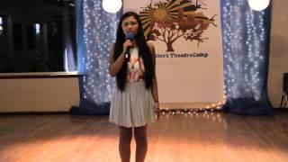 """I'm Not Afraid of Anything"" | Tara Saha | HS Musical Showcase | Summer 2014 | Session 2"