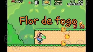 Cheats do super Mario world emulador gba
