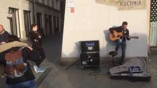 Metallica Nothing Else Matters by Imad Fares and Italian Girls on Krakow Market Square 2015
