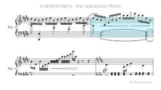 transformers - the autobots [Piano Solo]