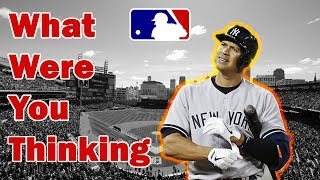 MLB What Were You Thinking?! (Really Dumb Plays)