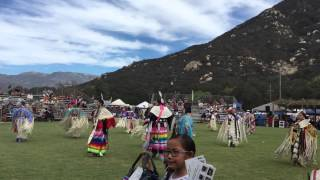 Womens Northern Traditional - Double Beat - Black Bear - Pala Pow Wow 2015