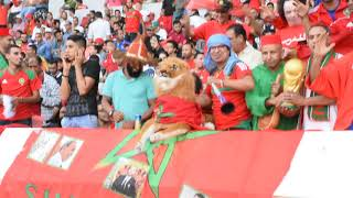 Ambiance de liesse au stade Mohammed V en attendant le choc Maroc-Gabon