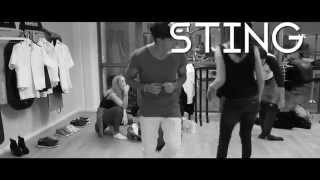 Eric Saade - Sting [Behind the Scenes Lyric Video]