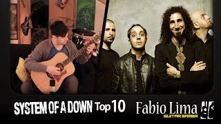 System Of A Down Top 10 Meets Fingerstyle by Fabio Lima