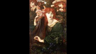 "DANTE GABRIEL ROSSETTI (1828-1882) ✽ Mozart, Piano Concerto No.21 ""Elvira Madigan"" Andante"