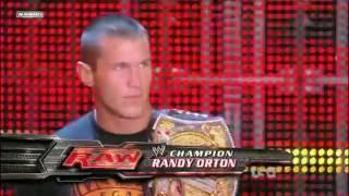Randy Orton Best WWE Champion Entrance 2009 HD