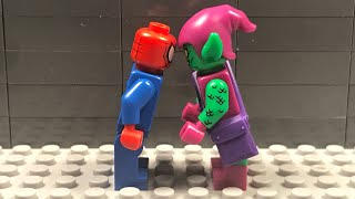 Lego Spider-Man vs Green Goblin