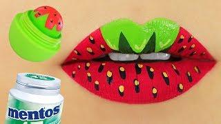 8 DIY Lip Balm, Scrub And Lip Gloss Recipes width=
