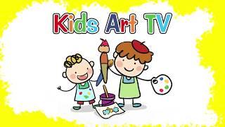 Kids Art TV logo intro