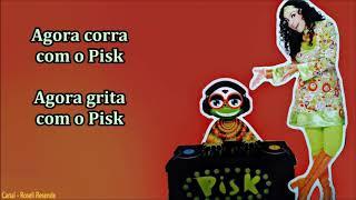 Cristina Mel (Infantil) - O Sapo Pisk (Com letra)