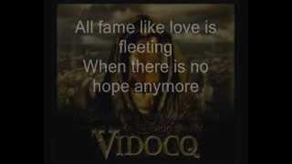 VIDOCQ - Hope Vol II - Apocalyptica Ft. Matthias Sayer with Lyrics