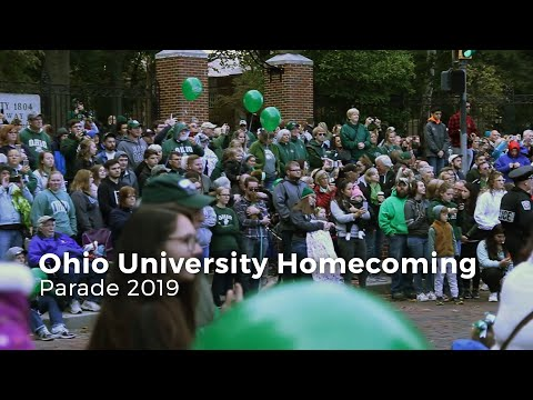 Check out footage from Ohio University's 2019 Homecoming Parade. The Parade took place Saturday Oct. 12, 2019 in Athens, Ohio.  Video by Faith Lucas Edited by Emily Kotanchik  Visit our website:  https://www.thepostathens.com/   Find us on social media:  Instagram:  https://www.instagram.com/thepostathens/  Twitter:  https://twitter.com/ThePost  Facebook:  https://www.facebook.com/ThePostAthens