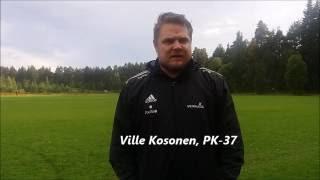 Otteluennakko: PK-37-JIlves su 28.8. klo 18.30 Sankariniemi