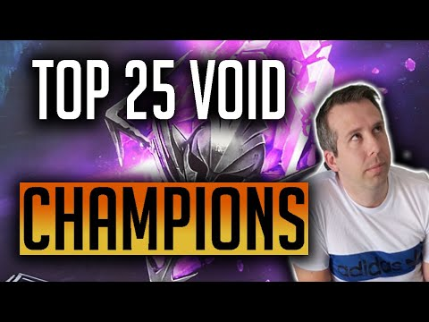 RAID | x2 Chance to summon Voids this weekend! Here are my top 25 possible pulls!