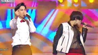 2014 MBC 가요대제전 - EXO와 샤이니의 댄싱머신! 카이+태민 Pretty Boy 20141231