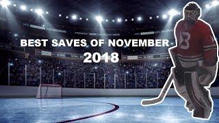 Best Saves Of November | GoPro Hockey