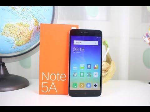 Xiaomi Redmi Note 5A - unboxing și primele impresii