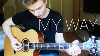 Calvin Harris - My Way - Guitar Cover (Instrumental) | Mattias Krantz