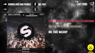 Carnage x VINAI vs Travis Scott vs NGHTMARE - Time For The Techno vs Goosebumps (Mr. Fabz Mashup)