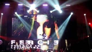 DJ Fergie, video by an angelico and Fergie on the New Year Eve 2010/2011, BelExpo, Minsk