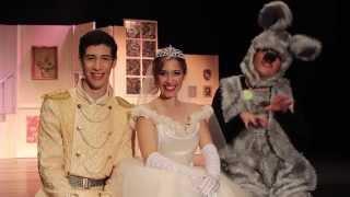 Cinderela - O Musical // AUDITÓRIO MUNICIPAL DE GAIA // Cinderela, Princípe, Rato