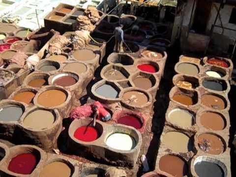 Tannery – Fes, Morocco
