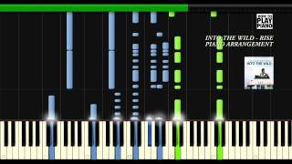 INTO THE WILD - RISE (EDDIE VEDDER) - SYNTHESIA - PIANO ARRANGEMENT