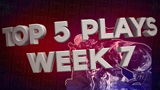 RG: Top 5 Plays - Week 7 #SnipersSpecial Powered by @JerkyXP