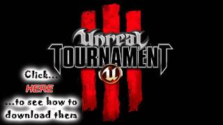 All Unreal Tournament 3 announcer sounds (download link)