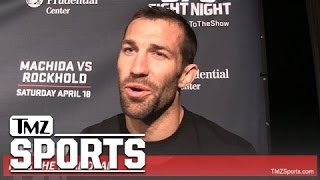UFC's Luke Rockhold -- Steven Seagal Wrecked Me ... With 'Death Touch' | TMZ Sports