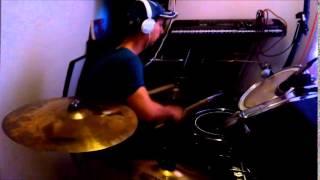 corazón bipolar paty cantu cover drums man mtz