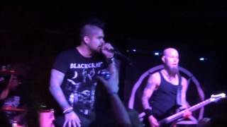 """Drowning Pool - """"37 Stitches"""" - Live at Spicoli's Waterloo, IA  2/16/16"""