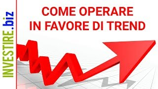 Come operare in Favore di Trend