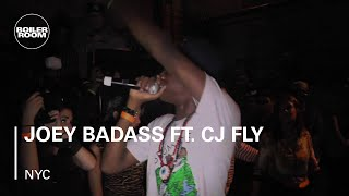 Joey Badass ft. CJ Fly - 'Hard Knock' - live in the Boiler Room New York x RBMA