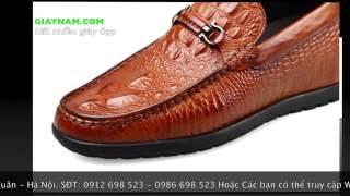 Giày nam  - giày mọi tăng chiều cao - giày nam đẹp - giày da cá sấu - giày nam nhập khẩu 2017