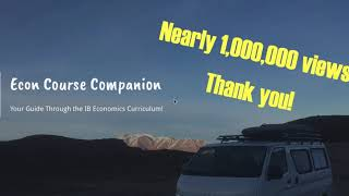 Econ Course Companion:  Nearly 1,000,000 Views!  Thank you!