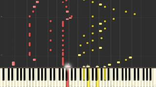 [Piano Four Hands] Supercalifragilisticexpialidocious (Mary Poppins) [Synthesia tutorial]