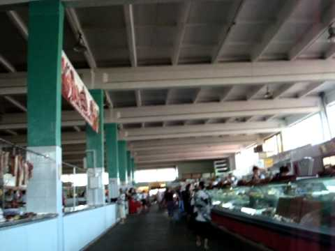 Meat Market in Ternopil, Ukraine