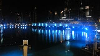 Dubai Fountain laser show - DSF 2013 Part 2/4