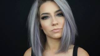 How I Colour My Hair At Home   Pastel Periwinkle