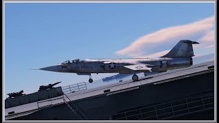 F-104A Starfighter RB/SB Carrier Landing | War Thunder