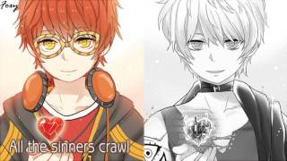 「Nightcore」→ Demons (Switching Vocals) || Mystic Messenger