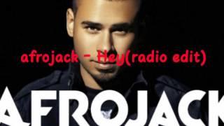 Afrojack - Hey! (Radio edit)