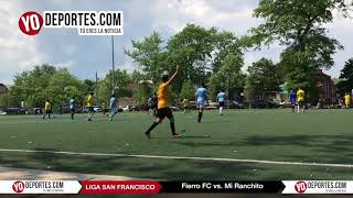 Fierro FC  vs  Mi Ranchito Liga San Francisco Final Torneo Corto