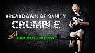 Breakdown Of Sanity - Crumble (CARDIO-COVER!)