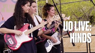 """Hinds """"Castigadas En El Granero"""" — UO Live"""